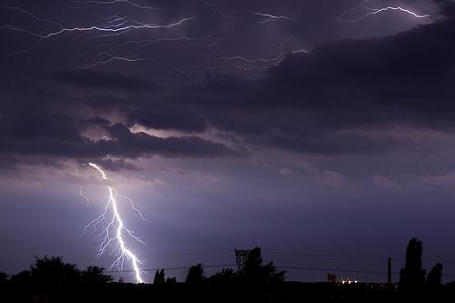 Elsőfokú viharriadót rendeltek el Maros megyében