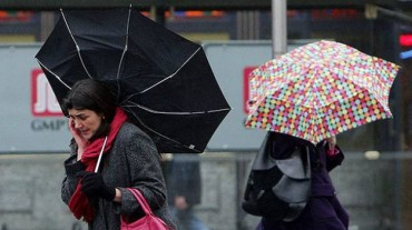 Szeszélyes időjárás várható vasárnap estig az ország egész területén