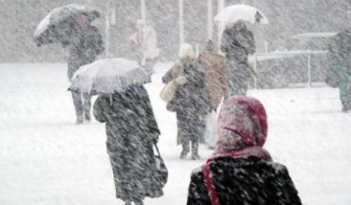 Erős szél és havazás várható – sárga fokú riasztás van érvényben