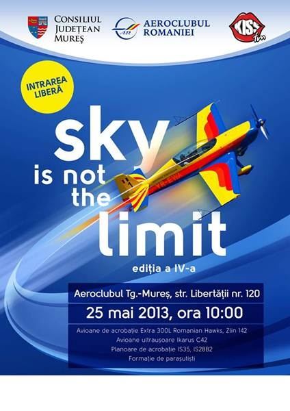 Sky is not the limit - Marosvasarhely