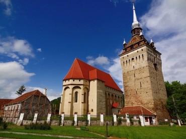 Európai uniós alapokból újítják fel a szászkézdi evangélikus erődtemplomot