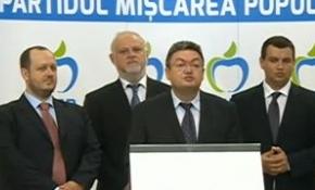 Párttá alakult Traian Basescu államfő politikai mozgalma
