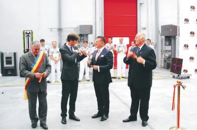 Újabb Caparol-gyárat nyitott a DAW-Benţa cégcsoport