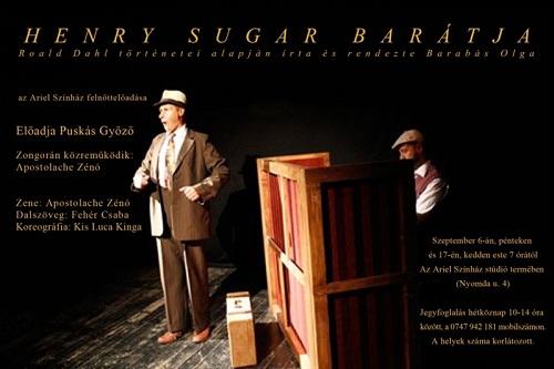 Henry Sugar november 22-én az Arielben