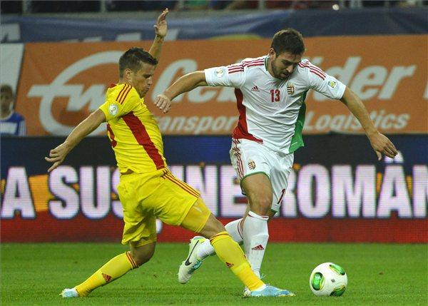 A román válogatott 3-0-ás győzelmet aratott Bukarestben a magyarok ellen
