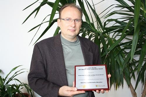Európai elismerést nyert a Sapientián kidolgozott informatika oktatási módszer