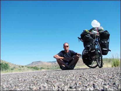 Biciklivel utazza körbe Amerikát egy marosvásárhelyi fiatal