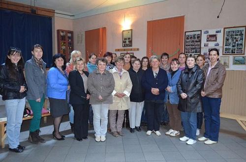 Mezőcsávás és Marosszentanna kerületben is megalakult a Nőszervezet