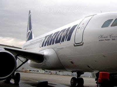 A Tarom légitársaság vesztesége harmadával csökkent