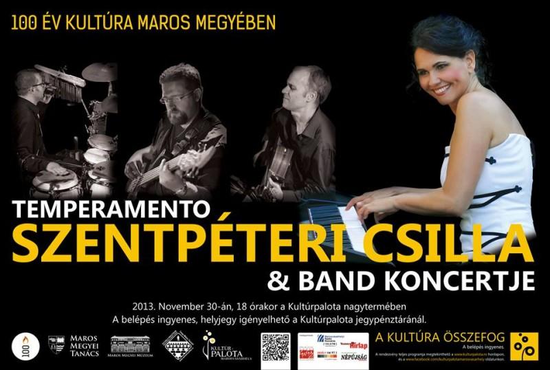 Szentpéteri Csilla & Band koncert a Kultúrpalotában
