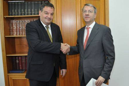 Elfoglalta állomáshelyét Bukarestben az új magyar nagykövet