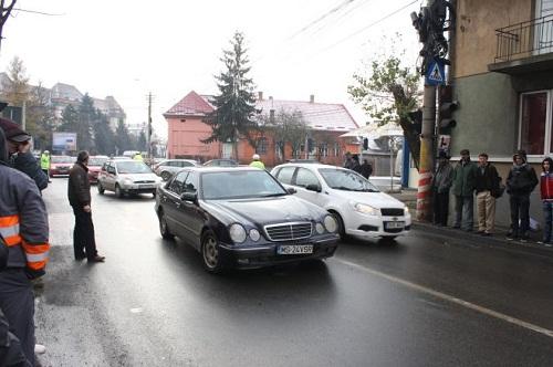 Átjárón ütöttek el egy gyalogost Marosvásárhelyen