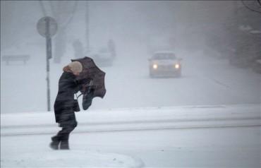 Narancssárga jelzésű, hóviharra vonatkozó figyelmeztetés van érvényben szerdáig az ország hét déli megyéjében