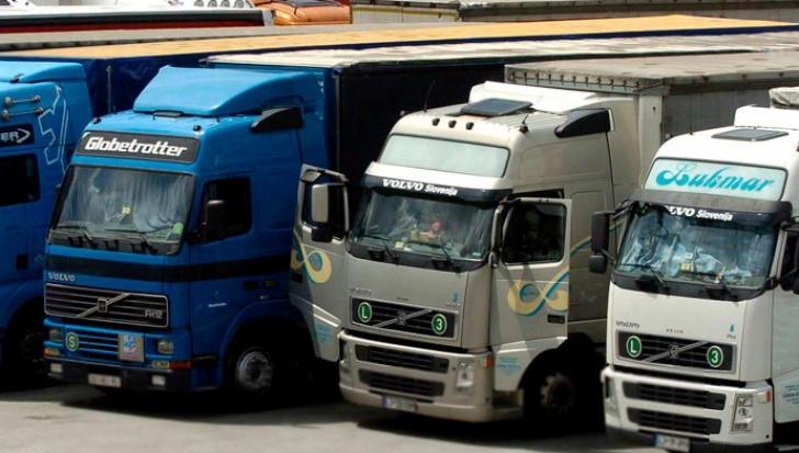 Kamionossztrájk okoz forgalmi fennakadásokat Romániában