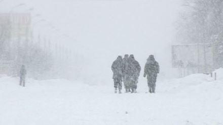 Beköszöntött a tél Románia délkeleti megyéiben