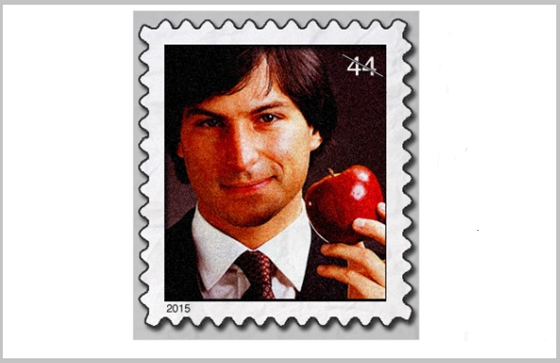 Bélyegre kerül Steve Jobs
