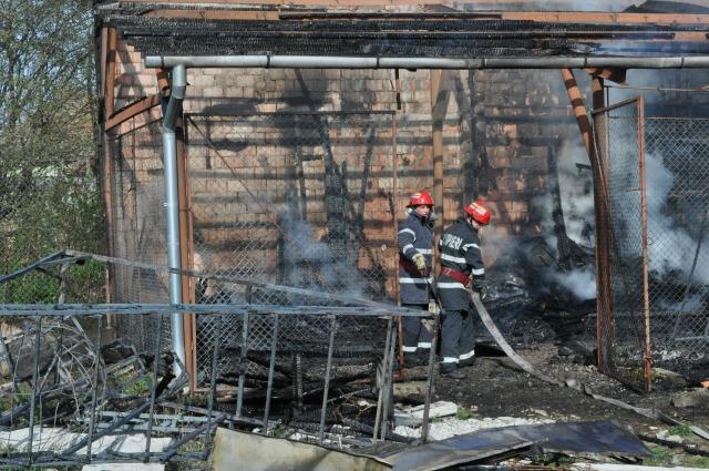 100.000 lej fölötti kárt okozott a Mező utcai tűz