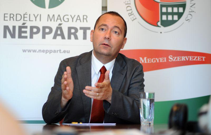 Az EMNP Szilágyi Zsolt alelnököt indítja a romániai elnökválasztáson