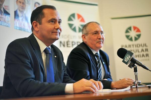 Bejelentette lemondását Toró T. Tibor pártelnök és Szilágyi Zsolt államelnökjelölt