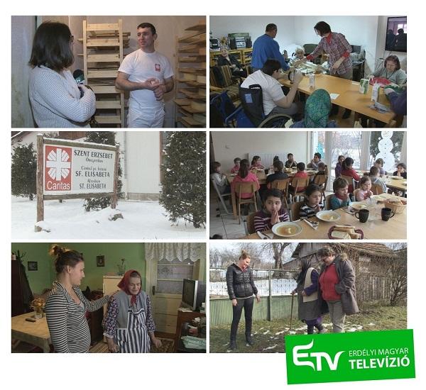 Hírsorozattal ünnepli a Caritas 25 éves születésnapját az Erdély TV