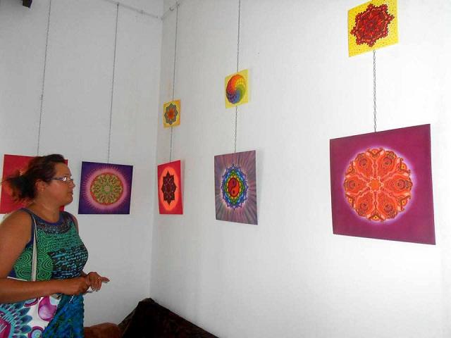 Mandala festménykiállítás Marosvásárhelyen