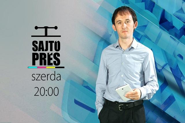 Farkas István lesz a Sajtóprés új műsorvezetője!
