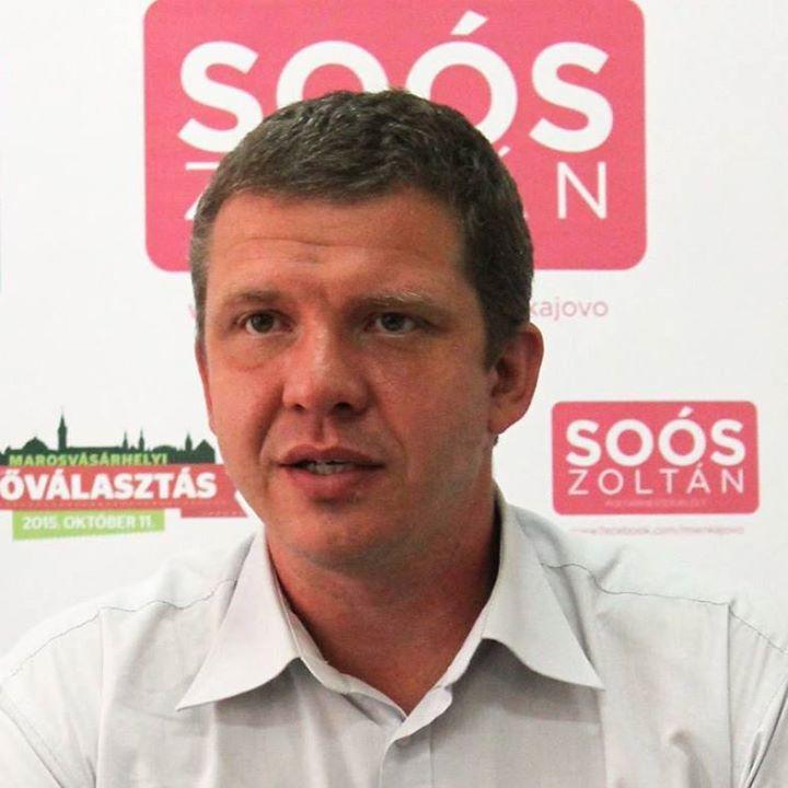 Függetlenként vesz részt a marosvásárhelyi polgármester-választáson Soós Zoltán