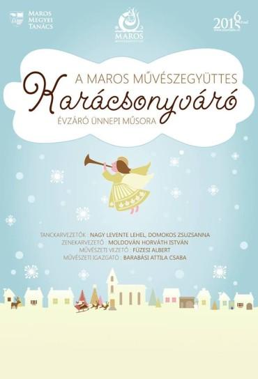 Rendkívüli előadással készül a Karácsonyi ünnepekre a Maros Művészegyüttes