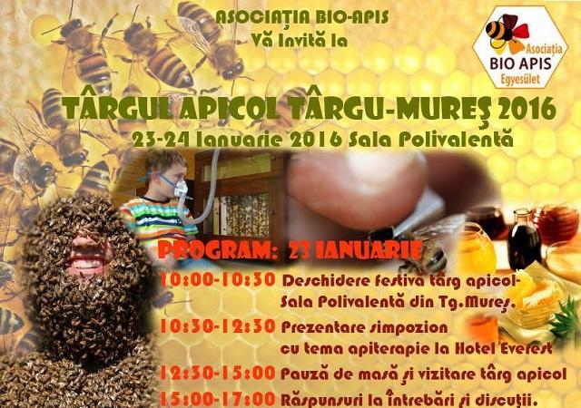 Január 23. és 24. között méhészeti vásárt tartanak Marosvásárhelyen