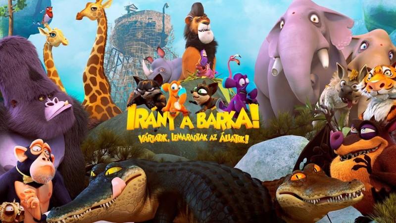 Először Marosvásárhelyen mutatják be magyar nyelven az IRÁNY A BÁRKA! című animációs filmet!