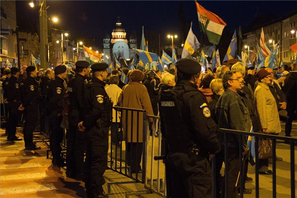 Székely szabadság napja: Feljelentette a szervező a bírságoló csendőröket