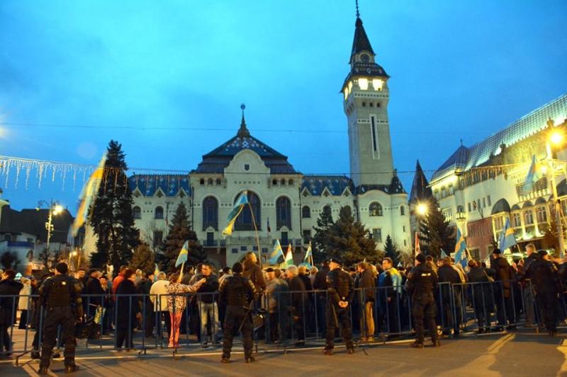 """Székely szabadság napja: A csendőrség később intézkedik a """"törvénysértőkkel"""" szemben"""
