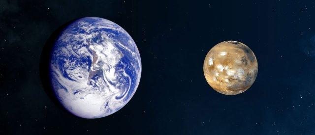 Szabad szemmel is látható a Mars, olyan közel halad el a Föld mellett