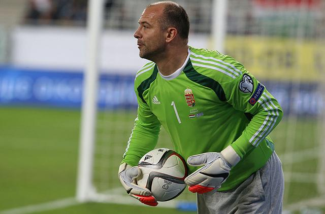 Király Gábor az első magyar kapus kapott gól nélkül