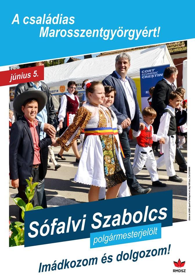 Marosszentgyörgyön Sófalvi Szabolcs nyerte a választásokat