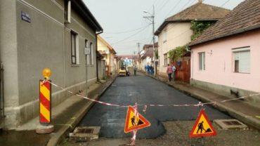 Újra dolgoznak a Berek utcában