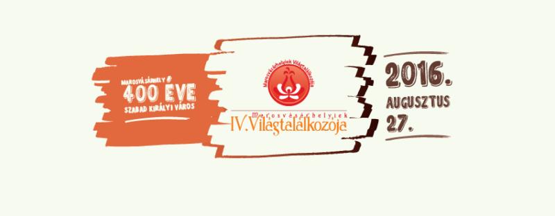 Megvan a Marosvásárhelyiek IV. Világtalálkozójának részletes programja