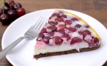 Meggyes-joghurtos torta recept