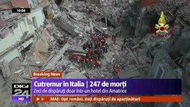 Már öt romániai halottja van az olaszországi földrengésnek