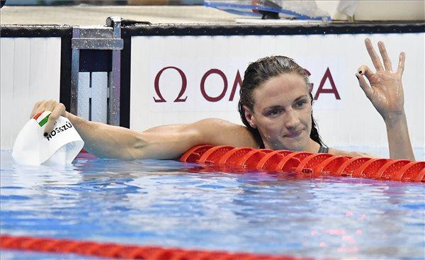 Hosszú Katinka olimpiai bajnok 200 méter vegyesen is