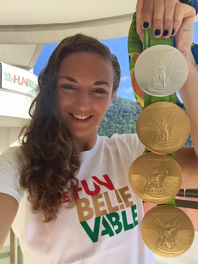 Három arany és egy ezüst után Hosszú Katinka hétfőn már meg is kezdi az edzéseket!