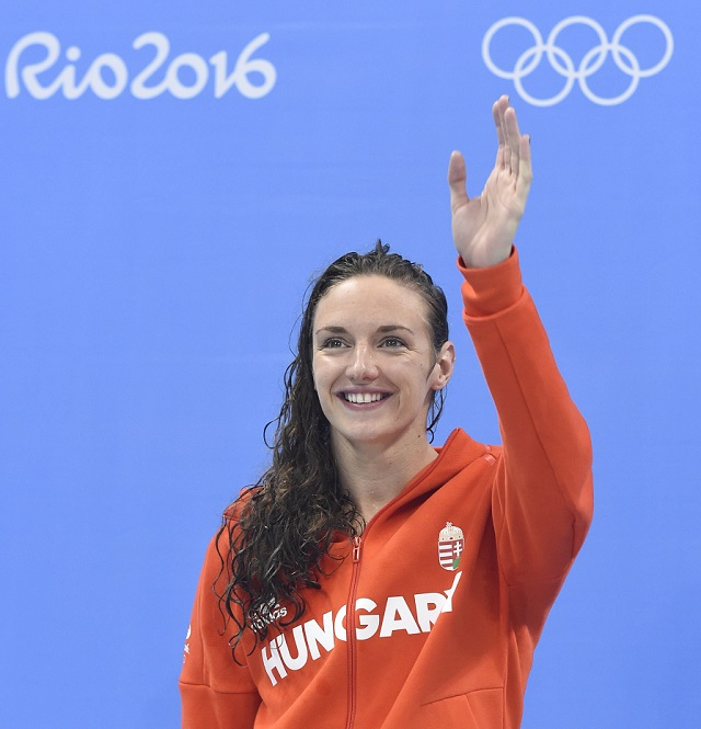"""Hosszú Katinka: """"Egyetlen célba érkezésen kívül minden összejött az olimpián"""""""