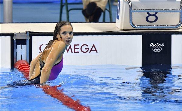 Kapás Boglárka bronzérmes 800 méter gyorson