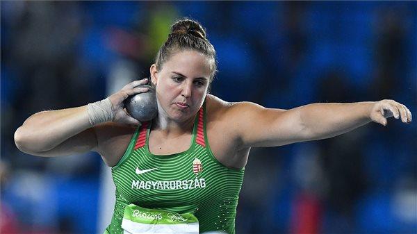 Márton Anita országos csúccsal bronzérmes súlylökésben