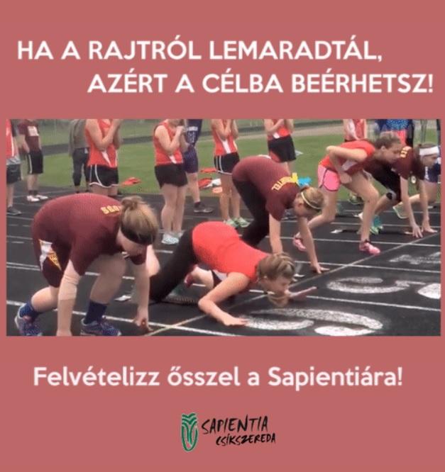 Zseniális gif-el népszerűsíti őszi felvételijét a Sapientia