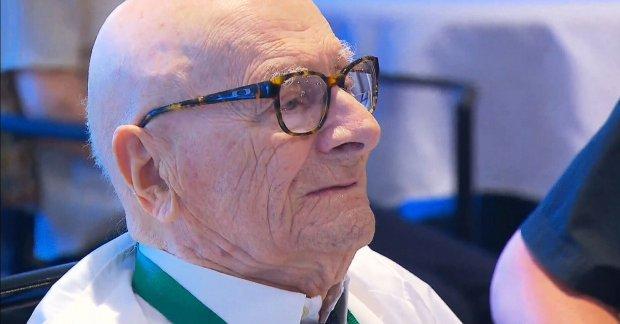 Egy magyar férfi Kanada legidősebb embere