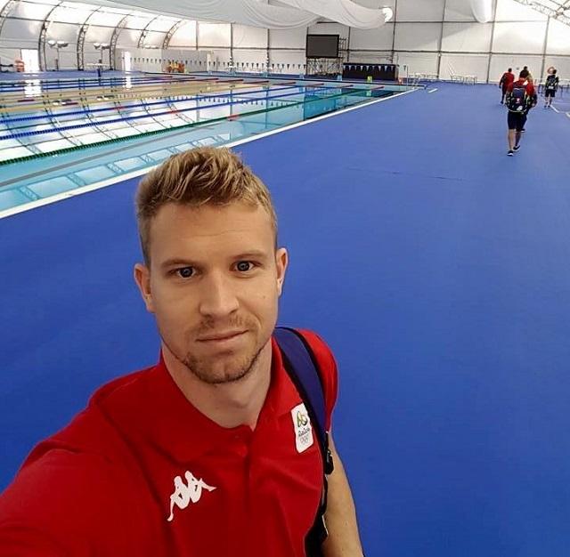 Csíkszeredában lett úszóedző a marosvásárhelyi Trandafir Norbert