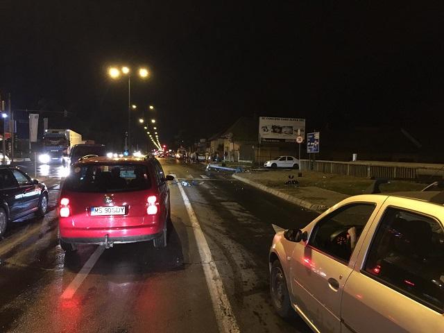 Két közúti baleset történt hétfőn Marosvásárhelyen