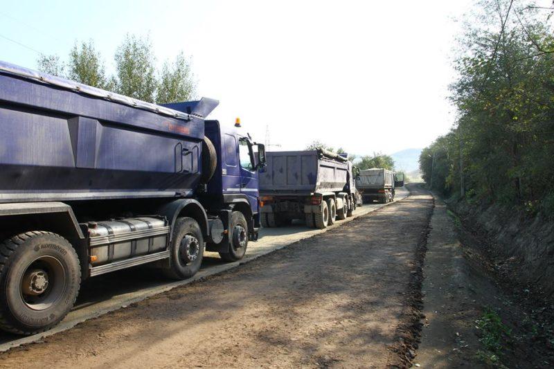 22 millió lejes beruházással újítják fel az Erdőszentgyörgyöt Hargita megyével összekötő útszakaszt