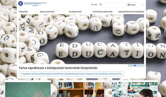 Google-programmal fordíthatták le az Oktatási Minisztérium honlapját